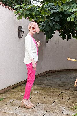 Pink - p978m902792 by Petra Herbert