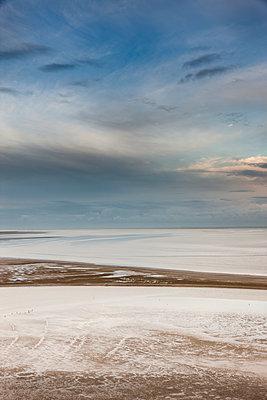 Wattenmeer am Mont Saint Michel - p248m1515251 von BY