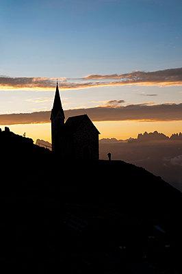 Lazfonserkreuz in Südtirol - p470m1502274 von Ingrid Michel