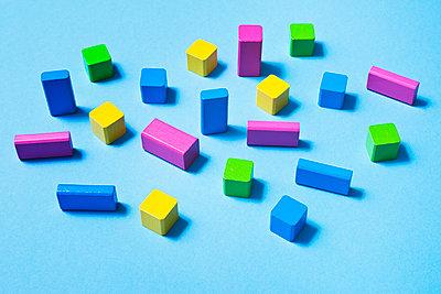 Toy blocks - p1149m2028498 by Yvonne Röder
