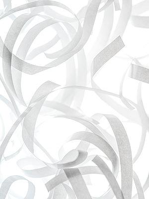 Paper stripes - p401m1591593 by Frank Baquet