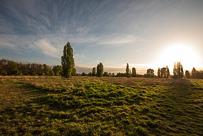 Sunrise in the countryside - p1291m2193379 by Marcus Bastel