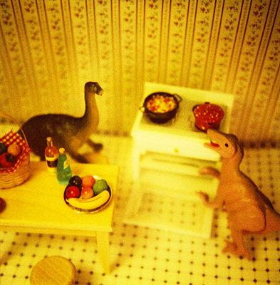 Dinos zu Hause - p56710927 von Christophe Boete
