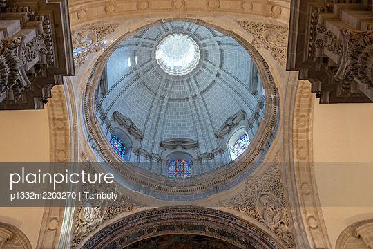 Domed structure, cathedral, Santa María de la Sede, Sevilla, Spain - p1332m2203270 by Tamboly