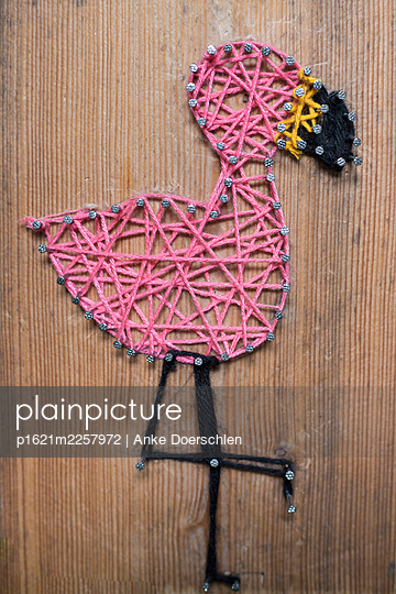 Flamingo - p1621m2257972 by Anke Doerschlen