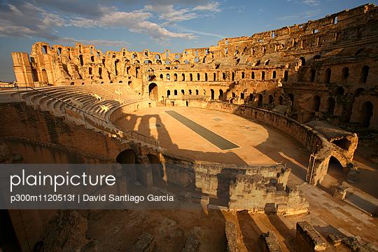 Tunisia, Colosseum in El Djem