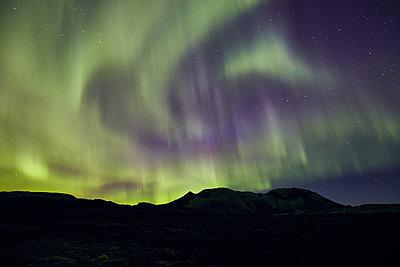 Nordlichter im Vatnajökull Nationalpark - p1305m1190694 von Hammerbacher