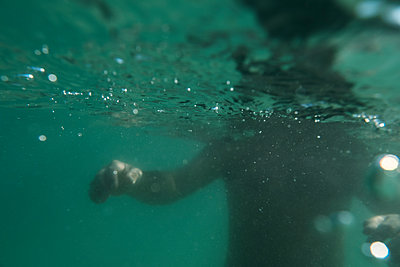 Underwater Shadow - p1262m1584313 by Maryanne Gobble