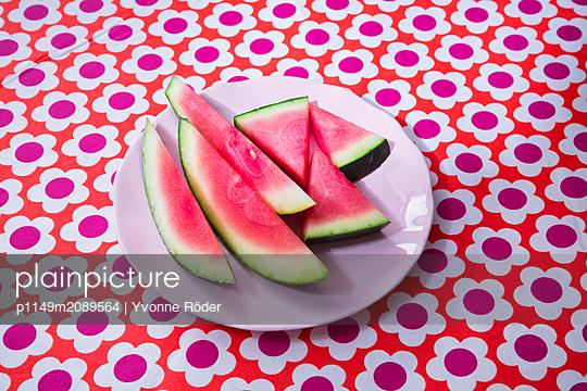 Watermelon - p1149m2089564 by Yvonne Röder