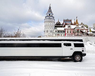 Limousine vor dem Kreml, Moskau - p1542m2209881 von Roger Grasas