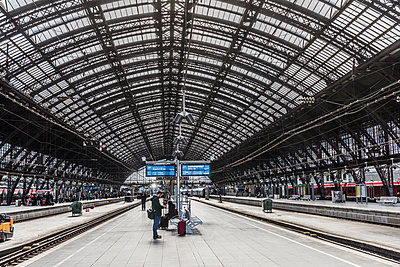 Central Station Cologne - p401m1590161 by Frank Baquet