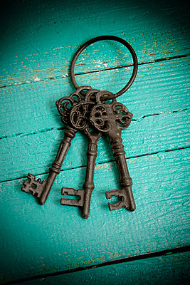 Old bunch of keys - p451m984729 by Anja Weber-Decker