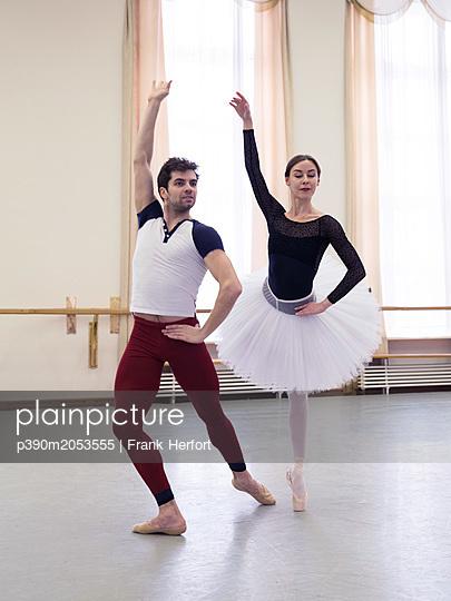 Ballett Training - p390m2053555 by Frank Herfort