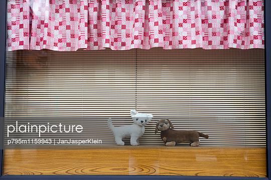 Schaufenster in Japan - p795m1159943 von Janklein