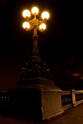 Old street lamp - p0452235 by Jasmin Sander
