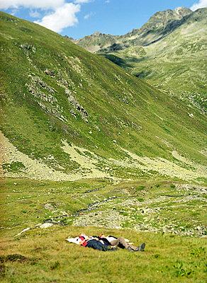 Rast in den Alpen - p6060240 von Iris Friedrich