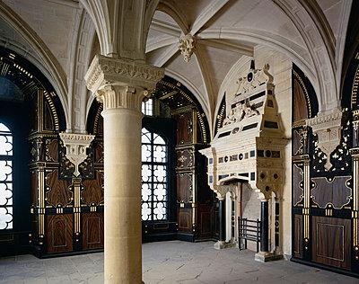 Bolsover Castle. The Pillar Parlour. - p8551703 by Jonathan Bailey