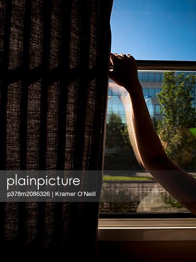 Train Window - p378m2086326 by Kramer O'Neill