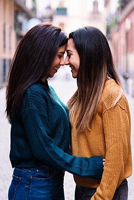 Beautiful Lesbian Couple.. LGBT Concept. - p1166m2165949 by Cavan Images