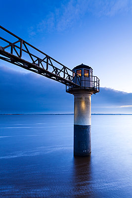 The lighthouse of Oostmahorn - p1144m967196 by Ron ter Burg