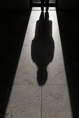 Schatten einer Person - p1340m2063834 von Christoph Lodewick