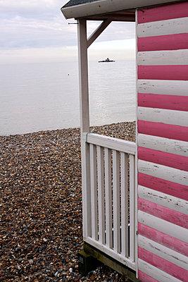 Beach house - p1063m893677 by Ekaterina Vasilyeva