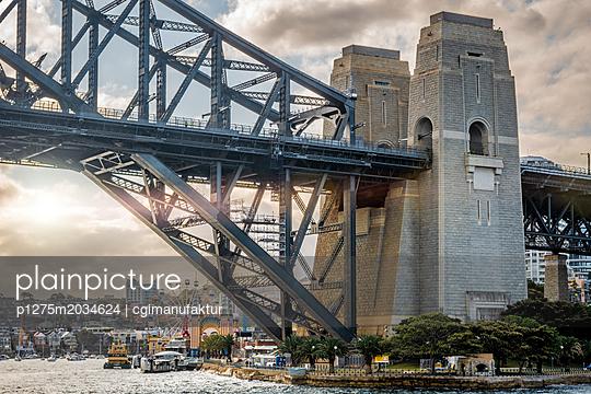 Sydney Harbour Bridge - p1275m2034624 von cgimanufaktur