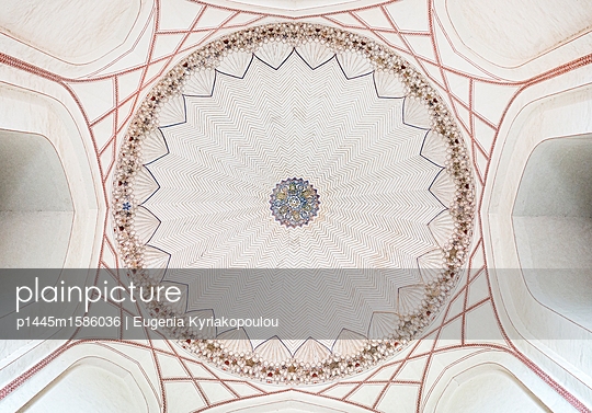 Ceiling in a mosque - p1445m1586036 by Eugenia Kyriakopoulou