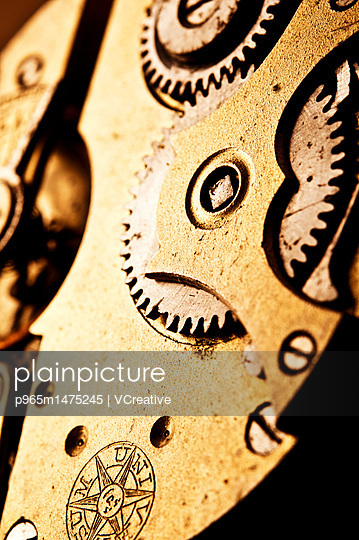 macro of watch mechanism