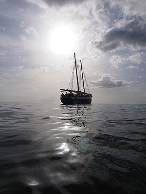 Sailing ship - p338m971710 by Marion Beckhäuser