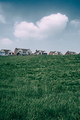 New housing complex in Wales - p597m1161399 by Tim Robinson