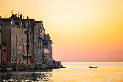 Sunset, Rovinj, Croatia - p429m2098585 by Henn Photography