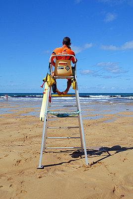 Lifeguard - p567m667605 by Aurelia Jaeger