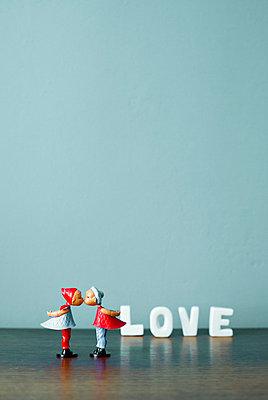 Liebespaar aus Plastik - p4320894 von mia takahara