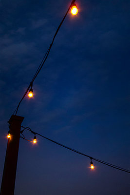 Outdoor Patio Lights - p1331m1169269 by Margie Hurwich