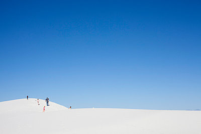 White dune in White Sands Nation - p4451058 by Marie Docher