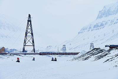 Abandoned coal mine in Spitzbergen - p1203m1189813 by Bernd Schumacher