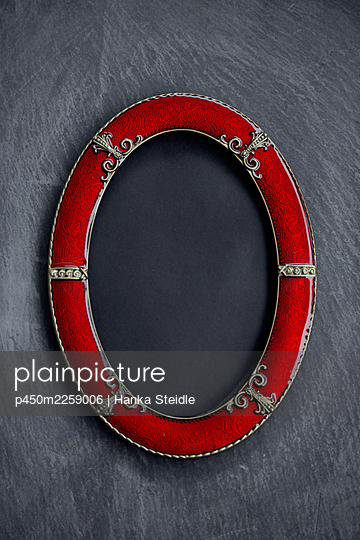 Red frame - p450m2259006 by Hanka Steidle