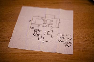 Draft of a flat - p5862409 by Kniel Synnatzschke