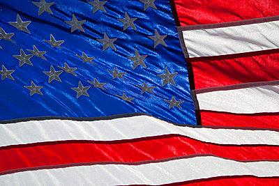 Amerikanische Flagge - p3300444 von Harald Braun