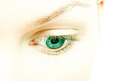 Female eye - p62316413f by Alix Minde