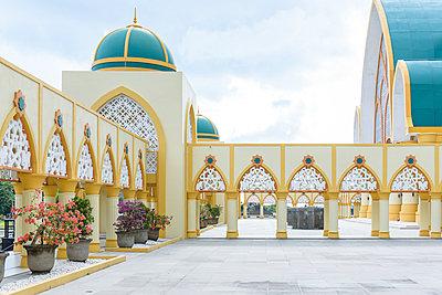 Moschee in Mataram - p1273m2045653 von Melanka Helms