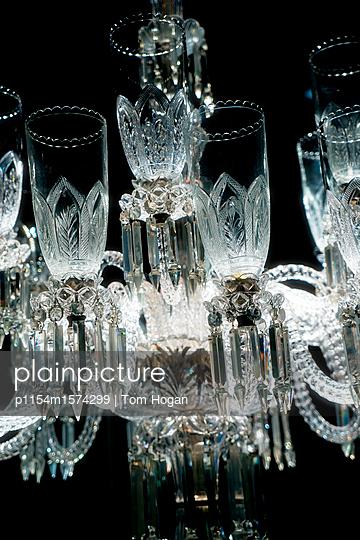 Kronleuchter aus Glas - p1154m1574299 von Tom Hogan