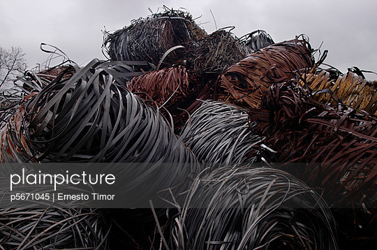 Recycling-Metall - p5671045 von Ernesto Timor