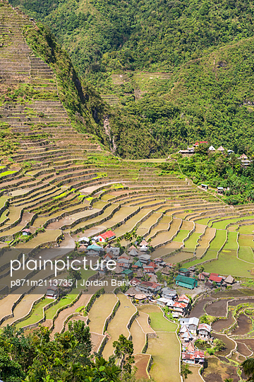 Batad, UNESCO World Heritage Site, Luzon, Philippines, Southeast Asia, Asia - p871m2113735 by Jordan Banks