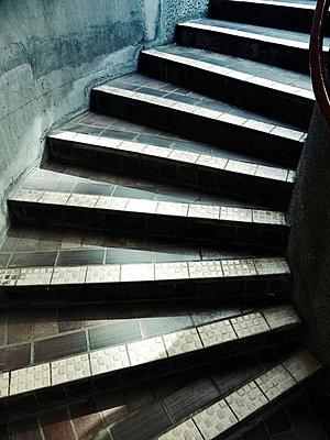 Public spiral steps - p1072m829227 by Neville Mountford-Hoare