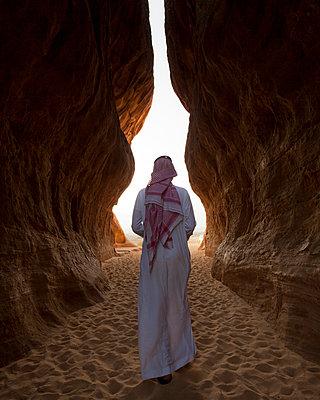 Saudia-Arabia, Bedouin in Mada'in Salih - p1542m2197020 by Roger Grasas