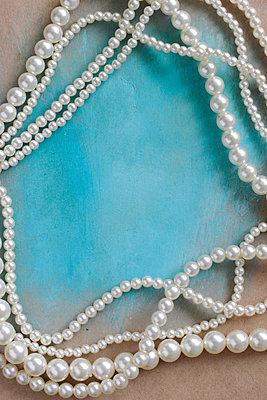 Perlenkette - p450m902838 von Hanka Steidle