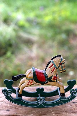 Wooden horse - p1063m932223 by Ekaterina Vasilyeva