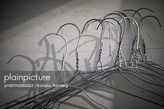 Wire hangers - p1657m2262423 by Kornelia Rumberg